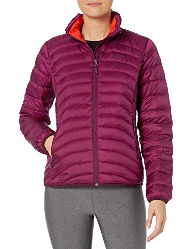Marmot Damen Daunenjacke Aruna Fill Power 600, Damen, FBA_78370-6400-513, magenta, Small