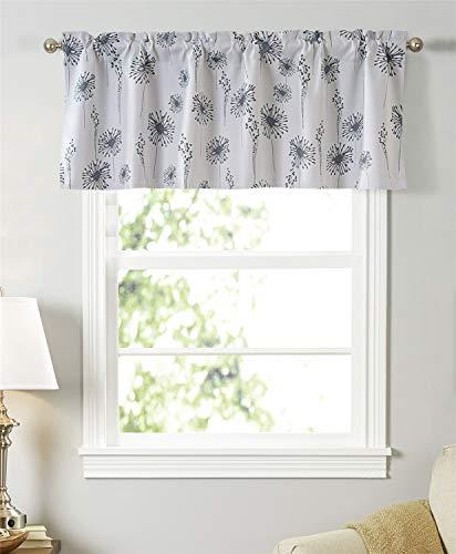 Dreamskull Cortina para ventana pequeña cortina, cortina, cortina, para cocina, salón, habitación infantil, pequeño príncipe rústico, opaca, 45 cm de alto, 130 cm de largo