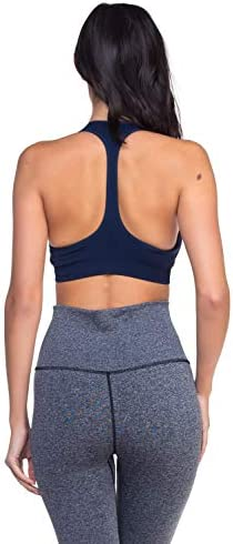 AEKO Padded Racerback Sports Bra Active Support for Gym Yoga Workouts