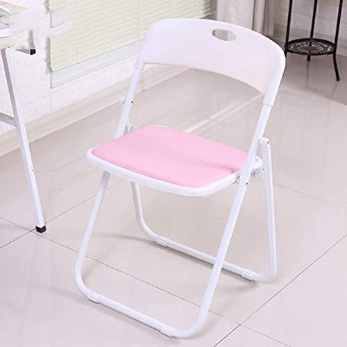 XUMINGZDY Klappstuhl büro Faltbare rückenlehne Stuhl hocker tragbare schlafsaal Computer Stuhl einfach bequem sitzungsraum trainingssitz (Farbe : C)