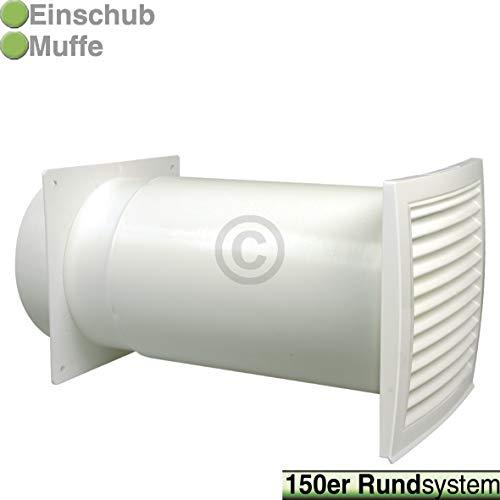 TronicXL Premium Mauer Durchführung Universal Mauerdurchführung 150er 150mm für Dunstabzugshaube Trockner Klimaanlage Zubehör