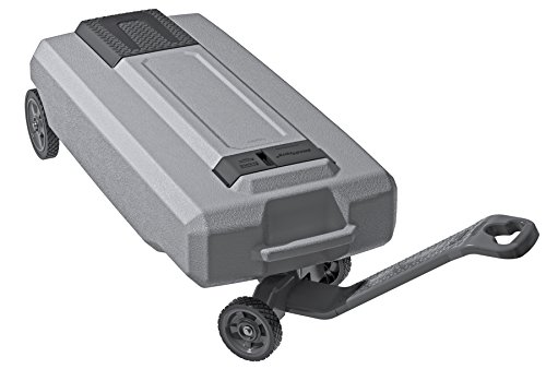 SmartTote2 RV Portable Waste Tote Tank - 4 Wheels...