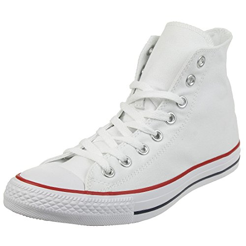 Converse Schuhe Chuck Taylor All Star HI Optical White (M7650C) 45 Weiss