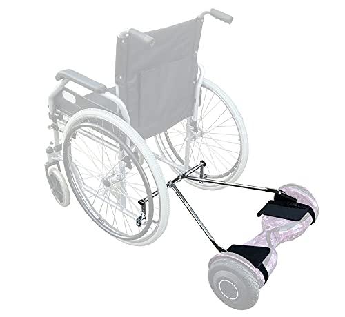 Mooevo Kit: Adaptador para pasear tu silla de ruedas con ayuda de un hoverboard