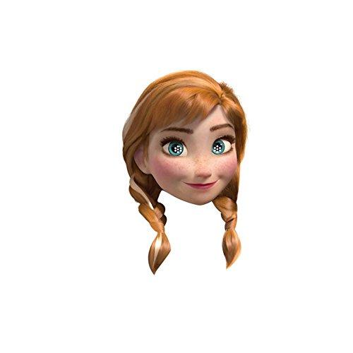 Frozen Thème Carton Masques De Visage De Fête (Divers Caractères to choose from - Anna