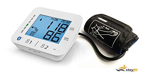 Zeit-Bar Stayfit Blutdruckmessgerät + kostenlose Auswertungs-App