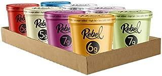 "Rebel Ice Cream - Low Carb, Keto - ""The Maverick"" Mixed Case (8 Pints)"