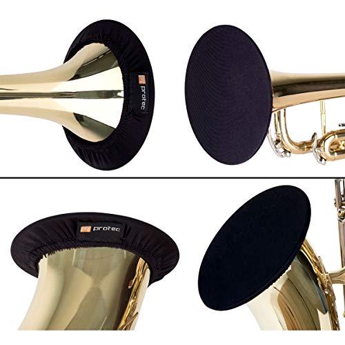 "trumpet bells Protec Instrument Bell Cover, 3.75-5"", Ideal for Trumpet, Alto, Bass Clarinet, Soprano Saxophone, Model A321"