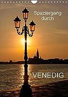 Spaziergang durch Venedig (Wandkalender 2022 DIN A4 hoch): Fotografien von Venedig (Monatskalender, 14 Seiten )