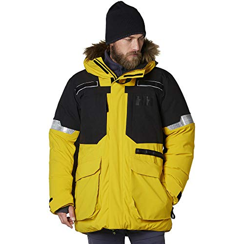 Helly Hansen Herren Expedition Parka Kapuzenjacke, gelb, X-Large