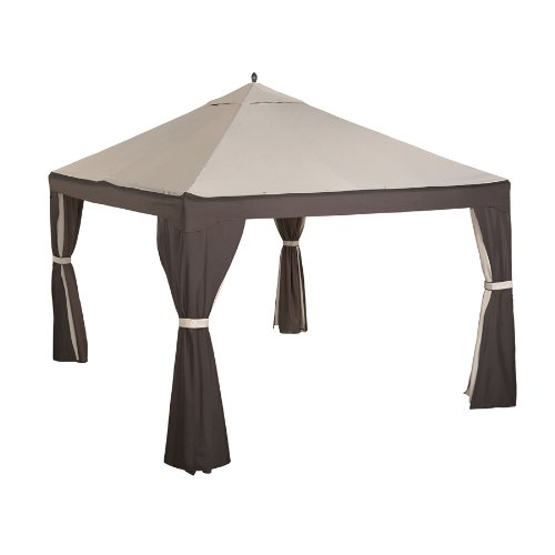 Garden Winds 10 x 12 Gazebo Replacement Canopy Top Cover - 4 Bar