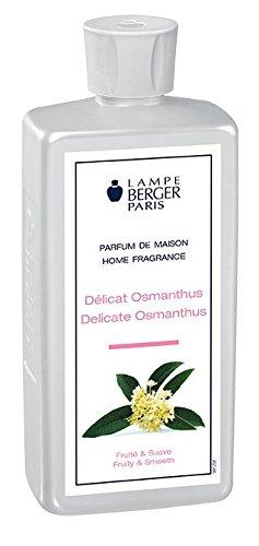 Lampe Berger délicat Osmanthus Parfum, Plastique, Transparent, 7,5 x 4,5 x 19 cm, 1 unités