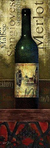 Feeling at home Kunstdruck-auf-GEROLLTE-LEINWAND-cm_160_X_53-Yang-Eric-Tasting-Room-I-Essen-Bild-auf-LEINWAND-380gr-100%-Baumwolle