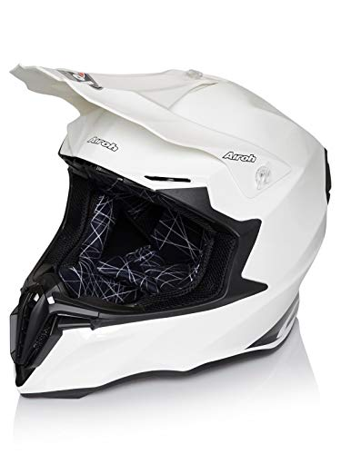 AIROH TWIST COLOR Motocross Helm 2018 - weiss gloss