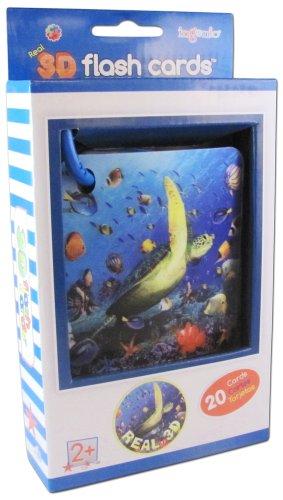 Ingenio Real 3D Flash Cards Marine Animals
