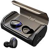 Bluetooth Kopfhörer HolyHigh Kabellos In Ear Sport Joggen Ohrhörer Bluetooth 5.0 mit 3000mAh Batterie 120 Stunden Spielzeit IPX6 Wasserdicht Mikrofon für iOS Android Samsung Huawei HTC