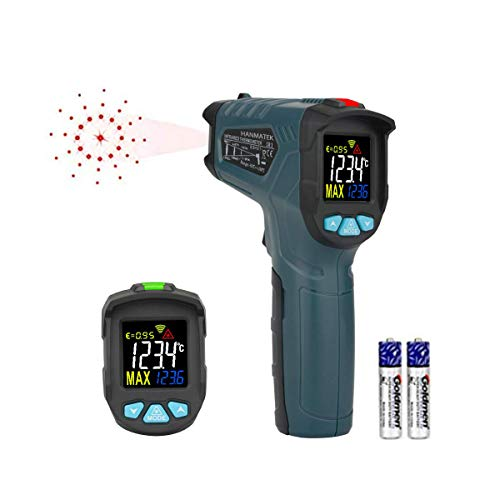 Infrared Thermometer, HANMATEK Laser grip Tempe Gun -58 ℉ ~ 716 ℉ (-50 ℃ ~ 380℃) Non Contact...