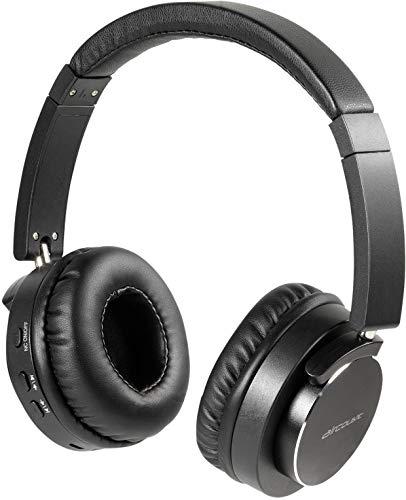 Vivanco HIGHQ Audio Black Auriculares Portátiles Bluetooth de Diadema, Jack 3,5 Chapado en Oro, hasta 6 Horas de Batería, Manos Libres