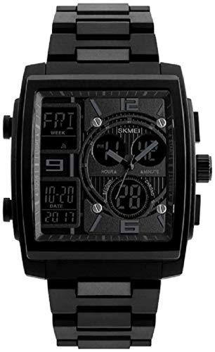 SGHH-Reino Unido Relojes de los hombres de la manera, los hombres del deporte del reloj digital resistente al agua, cuenta abajo del cronógrafo de la alarma del reloj del deporte Watwrproof EL Light d