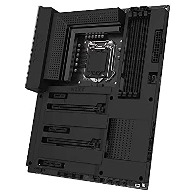 NZXT - Intel chipset (Supports 8th/9th Gen CPUs) - ATX Gaming Motherboard - Integrated I/O Shield - Intel Wireless - Bluetooth