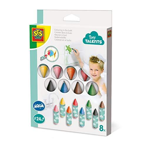 SES Creative 13096 Bademalstifte 8er-Pack