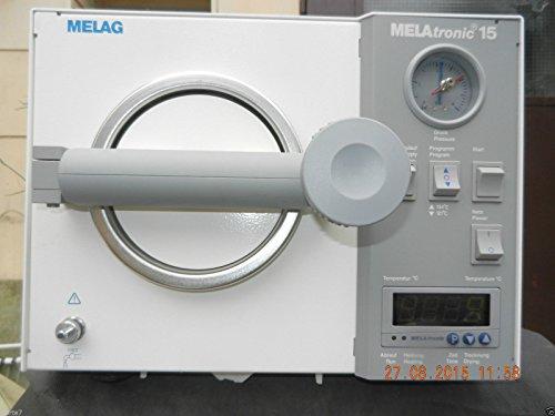 MELAG Melatronic 15-E Autoklav Baujahr: 2004 mit Trayhalter+2 Tablett, NEUWERTIG