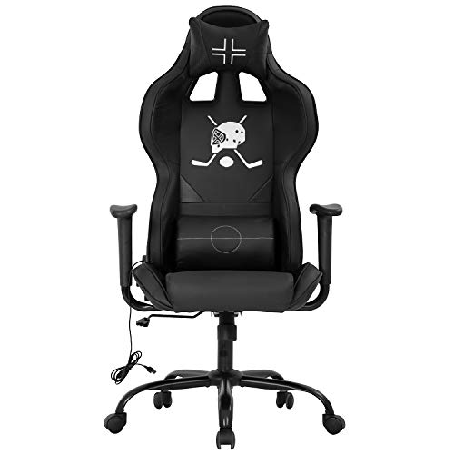 Office Chair Ergonomic PC Gaming Chair Desk Chair Executive Task Computer Chair Back Support Modern Executive Adjustable Arms Rolling Swivel Chair for Adults,Black