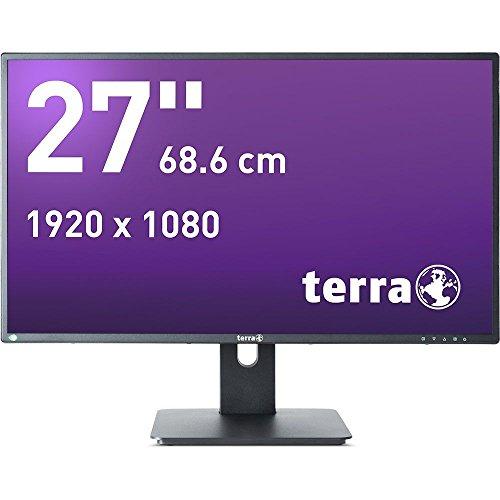 'Wortmann AG Terra LED 2756W PV 27Full HD AD-PLS matt schwarz