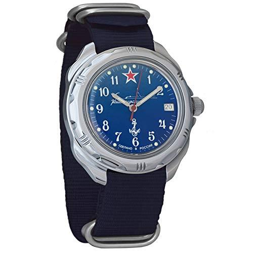 Vostok Komandirskie Classic Mens mecánico cuerda militar reloj #289