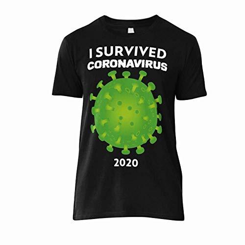 I Survived Córonavirus 2020 Classic T-Shirt Unisex Shirt Men Best Vintage Tee For Women Youth Customize T-Shirt