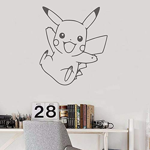 ASFGA Yellow pet myth angel wall stickers for kids room art wall decals for living room home decoration cute wall vinyl kids room door decals