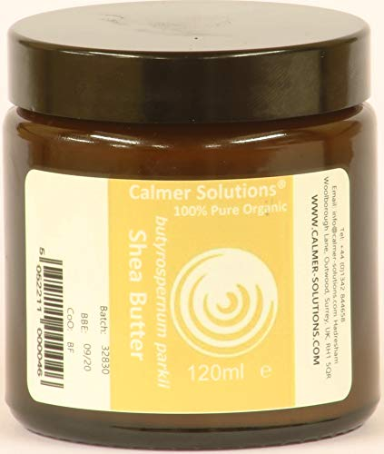 Calmer Solutions 100% Pur Beurre De Karité Bio 120ml Pot
