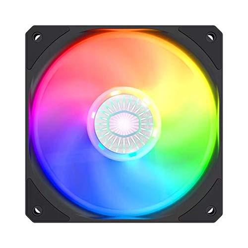 kdjsic 140mm ARGB RGB 5V 3PIN Caja de la computadora Ventilador silencioso PWM PC CPU Refrigerador Refrigeración por Agua del radiador