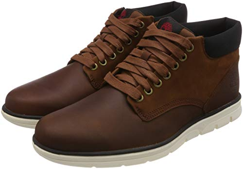 Timberland Herren Bradstreet Leather Sensorflex Chukka Stiefel, Braun Md Brown Full Grain, 44.5 EU
