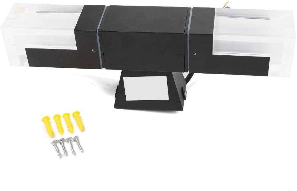 10W Low Power Black Acrylic Outdoor Double-Head New free Wall Wa Lamp depot