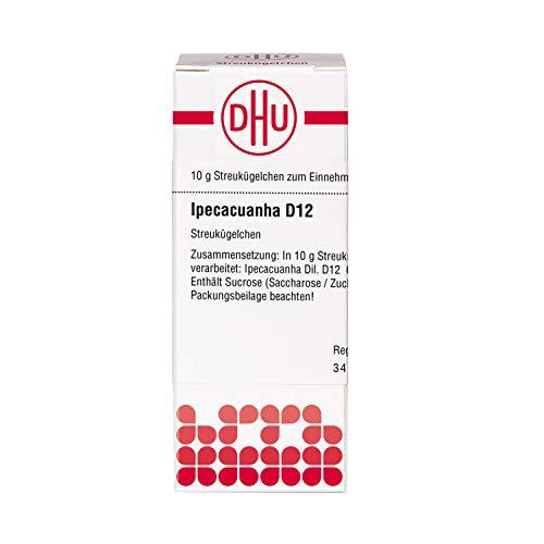 DHU Ipecacuanha D12 Globuli, 10 g Globuli