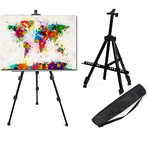 LIVIVO - Caballete telescópico trípode soporte pintura