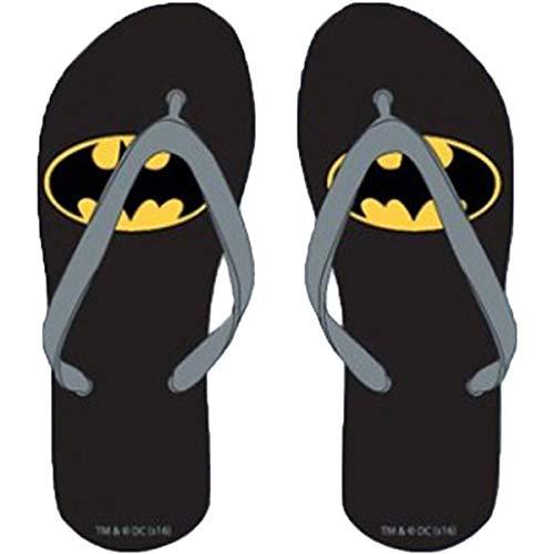 Tongs pour enfant Batman Summer tailles 23/25-26/28-30/32 - Noir - Noir , 32 EU EU
