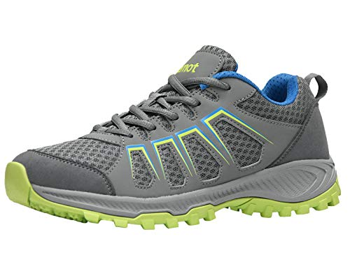 riemot Zapatillas Deportivas para Hombre, Zapatos de Trail Running, Trekking, Senderismo, Montaña, Transpirables Sneakers Deportivas Casual Zapatos para Correr
