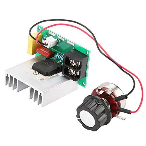 Controlador de Velocidad del Motor, AC 0-220V 8000W Regulador de Voltaje Electrónico de Alta Potencia with Placa de Circuito FR-4 para Controlar la Velocidad del Motor