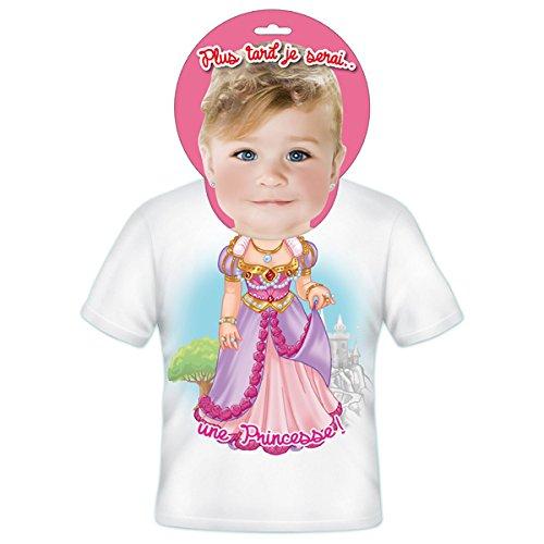 T-shirt Enfants Plus tard je serais Princesse 2 ans