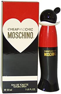 Moschino Cheap and Chic Eau De Toilette Spray for Women, 1 Ounce