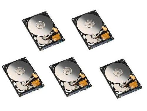 5 Hoeveelheid x Recertified 120GB 2.5 SATA Laptop/PS3 Harde schijf 5400 RPM