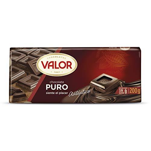 Valor Chocolate Con 52% De Cacao - 200 gr