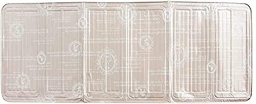 SDKFJ Splatter Screens Oil Sided Splatter Guard Oil Splatter Screen Kitchen Aluminum Stove Shield Tool Kitchen Non-Stick Splash Guard