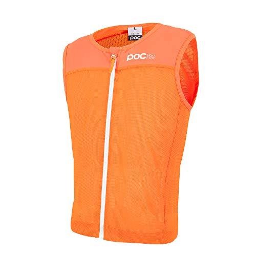 POC POCito VPD Spine Vest - Chaleco, Niños, Naranja (Fluorescent orange), S