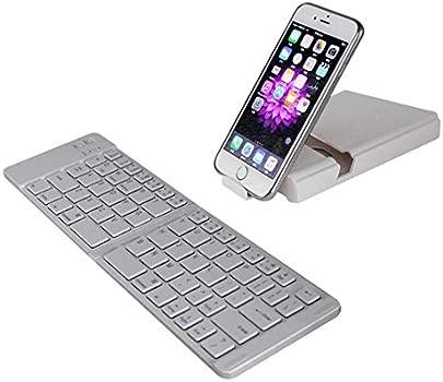 FWec Bluetooth-Tastatur Bluetooth-Tastatur Und -Maus Wiederaufladbar Bt Drahtlose D nne D nne Mini Bluetooth Faltbare 3 0 Drahtlose Tastatur F r Tablet Pc Laptop Pc Macor Mit Touchpad Schätzpreis : 29,99 €