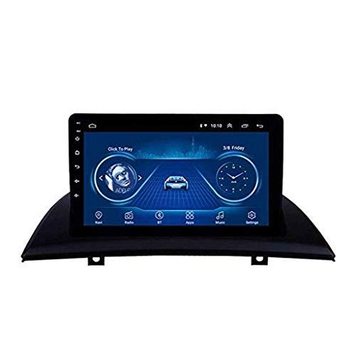 Android 8.1 - Radio de navegación GPS para BMW X3 E83 2004 – 2012, con DAB CD DVD control del volante, Bluetooth, USB, FM, AM Mirror Link, 4G + WiFi: 1 + 16G