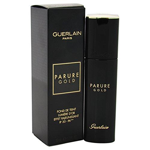 Guerlain Parure Gold Fdt Fluide - Base de maquillaje, color 04-beige moyen, 30 ml