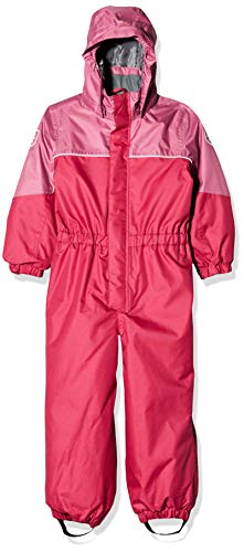 Color Kids Color Padded Schneeanzug Jacket, Rose (Framboise 443), (Taille du Fabricant: 98) Fille